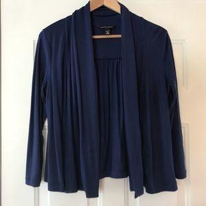 🍌Banana Republic Royal blue loose cardigan
